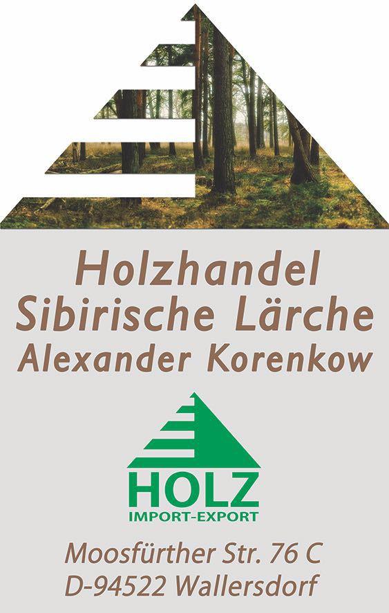 Willkommen bei Holzhandel Sibirische Lärche Alexander Korenkow in